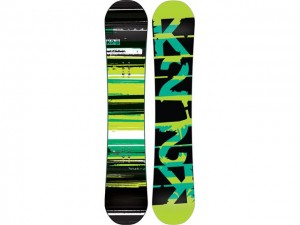 Colourful Snowboards